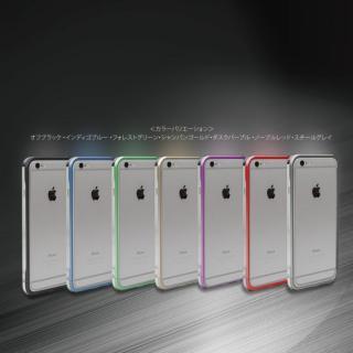 【iPhone6ケース】ツートンカラーがかっこいい GRAVITY SWORD α オフ・ブラック iPhone 6バンパー_4