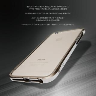 【iPhone6ケース】ツートンカラーがかっこいい GRAVITY SWORD α シャンパンゴールド iPhone 6バンパー_2