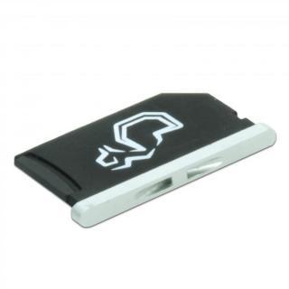 スマートにMacBookの容量追加 Nifty MiniDrive  MacBook Retina 13インチ シルバー