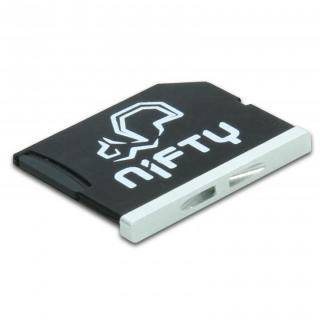 スマートにMacBookの容量追加 Nifty MiniDrive  MacBook Air 13インチ シルバー