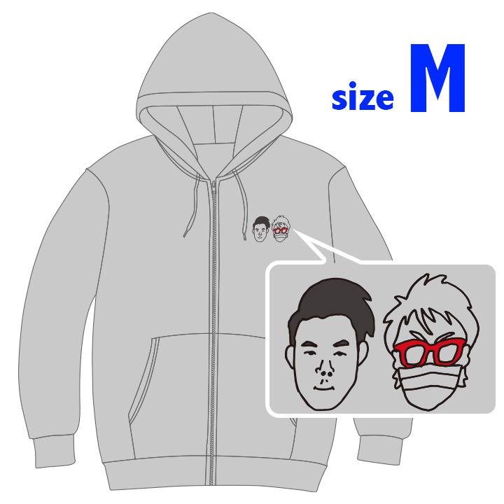 ハラガルパーカー feat.MC西下 グレー