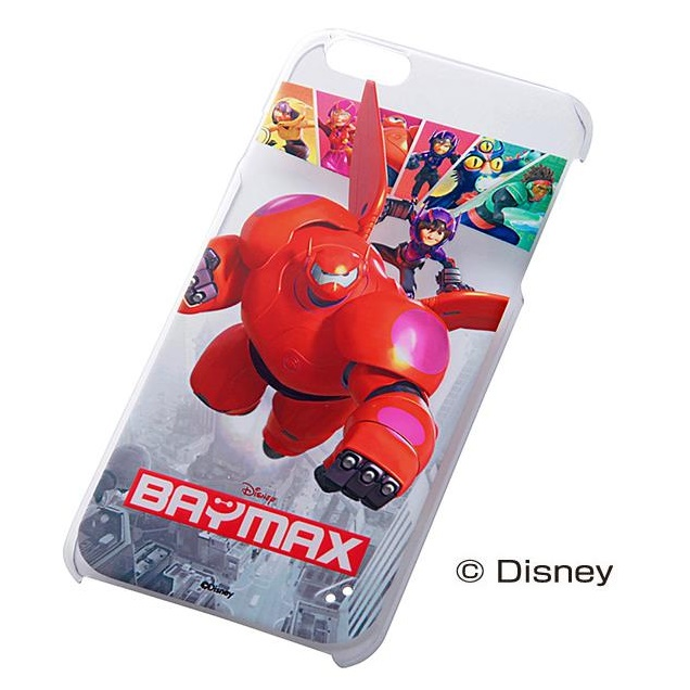ディズニー ベイマックス ハードケース レッドベイマックス iPhone 6 Plus
