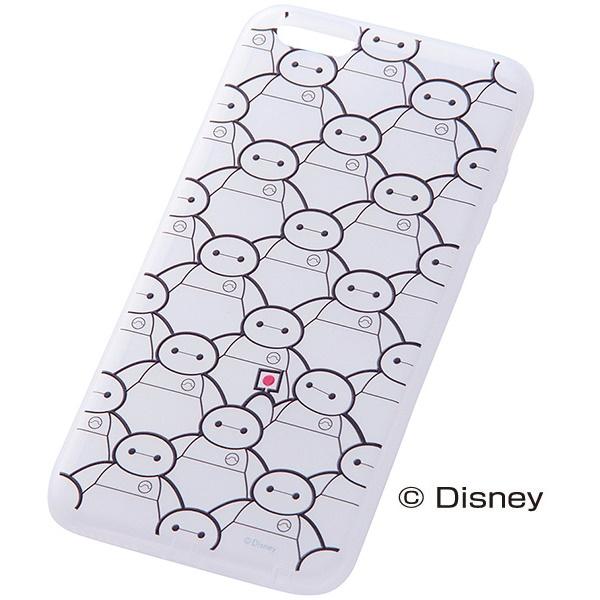 iPhone6 Plus ケース ディズニー ベイマックス ソフトケース ベイマックス・ジャパン iPhone 6 Plus_0