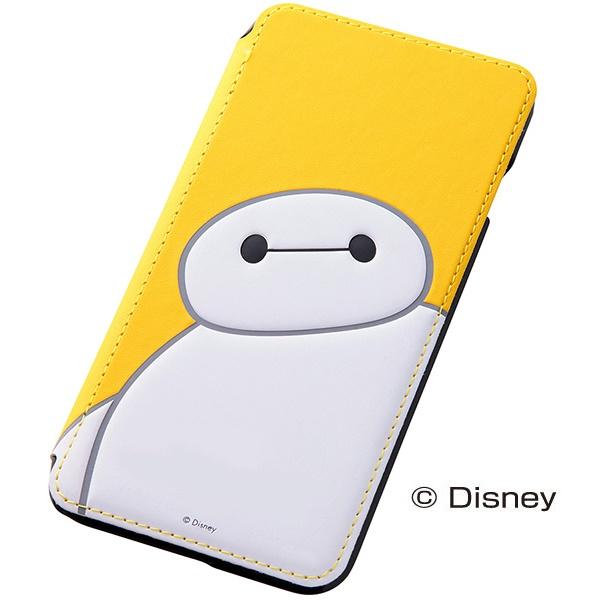 iPhone6 Plus ケース ディズニー ベイマックス 手帳型ケース イエロー iPhone 6 Plus_0