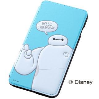 ディズニー ベイマックス 手帳型ケース ブルー iPhone 6 Plus