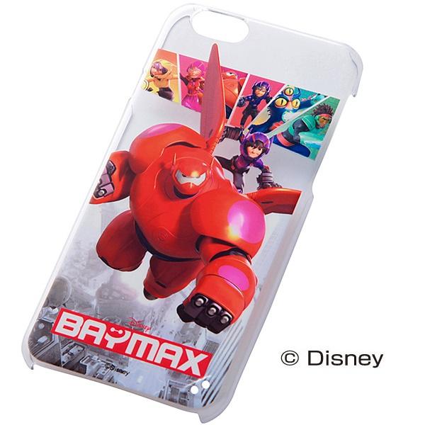 iPhone6 ケース ディズニー ベイマックス ハードケース レッドベイマックス iPhone 6_0