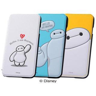 【iPhone6ケース】ディズニー ベイマックス 手帳型ケース イエロー iPhone 6_2