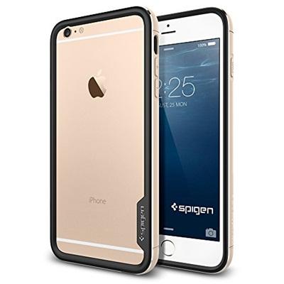 iPhone6 Plus ケース Spigen アルミバンパー ネオ・ハイブリッド EXメタル ゴールド iPhone 6 Plus_0