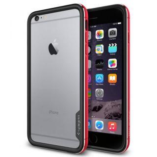 Spigen アルミバンパー ネオ・ハイブリッド EXメタル レッド iPhone 6 Plus