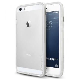 iPhone6 Plus ケース Spigen スリムハードバンパー ネオ・ハイブリッド EX シルバー iPhone 6 Plus
