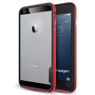 iPhone6 Plus ケース Spigen スリムハードバンパー ネオ・ハイブリッド EX レッド iPhone 6 Plus