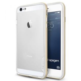 Spigen スリムハードバンパー ネオ・ハイブリッド EX ゴールド iPhone 6 Plus