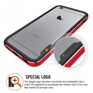 【iPhone6ケース】Spigen アルミバンパー ネオ・ハイブリッド EXメタル レッド iPhone 6_5