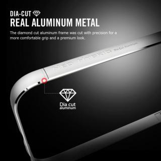 【iPhone6ケース】Spigen アルミバンパー ネオ・ハイブリッド EXメタル グレイ iPhone 6_1