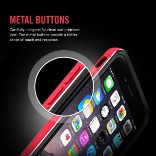 【iPhone6ケース】Spigen アルミバンパー ネオ・ハイブリッド EXメタル グレイ iPhone 6_2
