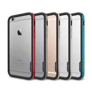 【iPhone6ケース】Spigen アルミバンパー ネオ・ハイブリッド EXメタル グレイ iPhone 6_7