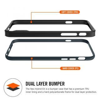 【iPhone6ケース】Spigen スリムハードバンパー ネオ・ハイブリッド EX レッド iPhone 6_2