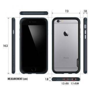 【iPhone6ケース】Spigen スリムハードバンパー ネオ・ハイブリッド EX レッド iPhone 6_6
