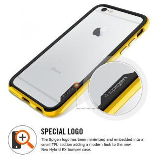 【iPhone6ケース】Spigen スリムハードバンパー ネオ・ハイブリッド EX ゴールド iPhone 6_1