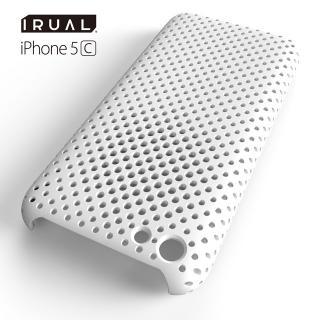 その他のiPhone/iPod ケース MESH SHELL CASE(メッシュシェルケース)  iPhone 5c MAT WHITE(ホワイト)