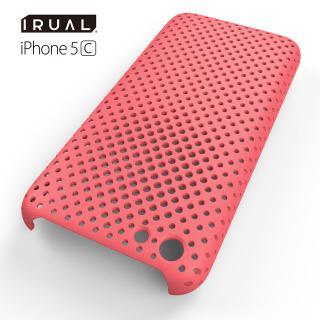 その他のiPhone/iPod ケース MESH SHELL CASE(メッシュシェルケース)  iPhone 5c MAT PINK(ピンク)