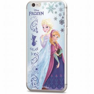 ディズニー 背面強化ガラス アナと雪の女王 アナ&エルサ iPhone 6