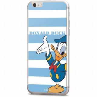 ディズニー 背面強化ガラス ドナルドダック ボーダー iPhone 6