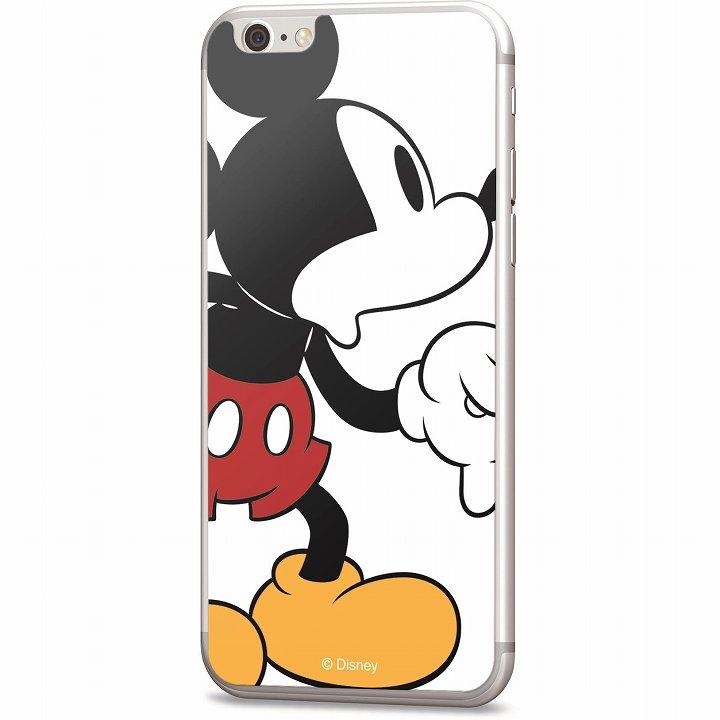 ディズニー 背面強化ガラス ミッキーマウス iPhone 6
