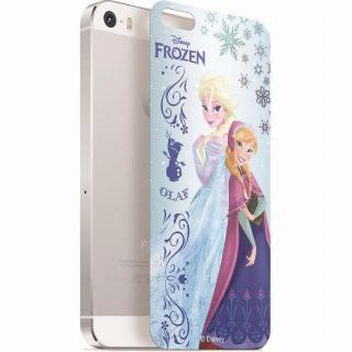 ディズニー 背面強化ガラス アナと雪の女王 アナ&エルサ iPhone SE/5s/5