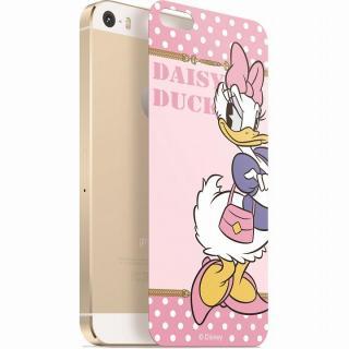 【iPhone SE/5s/5フィルム】ディズニー 背面強化ガラス デイジーダック ドット iPhone SE/5s/5