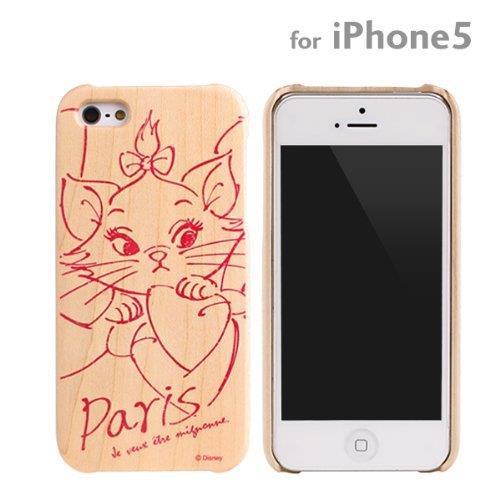 ディズニー 木製iPhone SE/5s/5ケース マリー
