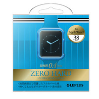 AppleWatch 38mm 極薄フルカバーハードケース 「ZERO HARD」 クリアブルー_0