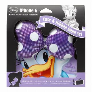 ディズニー ケース&リボンバンドセット デイジーダック iPhone 6