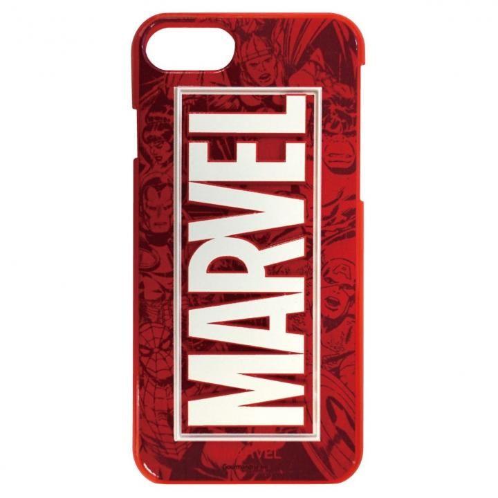 iPhone8/7/6s/6 ケース MARVEL 3Dハードケース コミック・レッド iPhone 8/7/6s/6_0