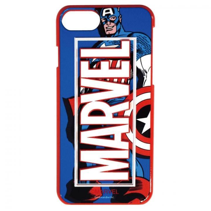 iPhone8/7/6s/6 ケース MARVEL 3Dハードケース キャプテン・アメリカ iPhone 8/7/6s/6_0