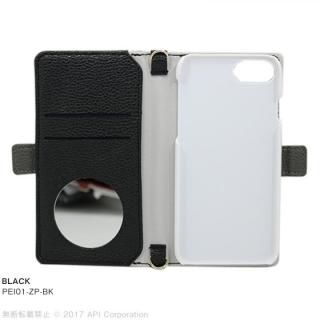 【iPhone8/7/6s/6ケース】EYLE Zipper 手帳型ケース ブラック iPhone 8/7/6s/6_2