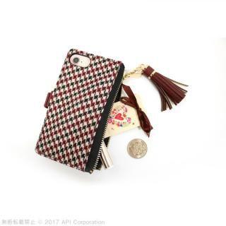 【iPhone8/7/6s/6ケース】EYLE Zipper 手帳型ケース ブラック iPhone 8/7/6s/6_5
