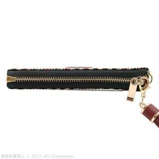 【iPhone8/7/6s/6ケース】EYLE Zipper 手帳型ケース ブラック iPhone 8/7/6s/6_10