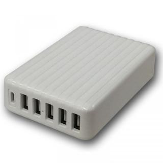 快適充電生活 USB AC チャージャー 急速充電 6ポートUSB充電器 Type-C搭載【3月上旬】
