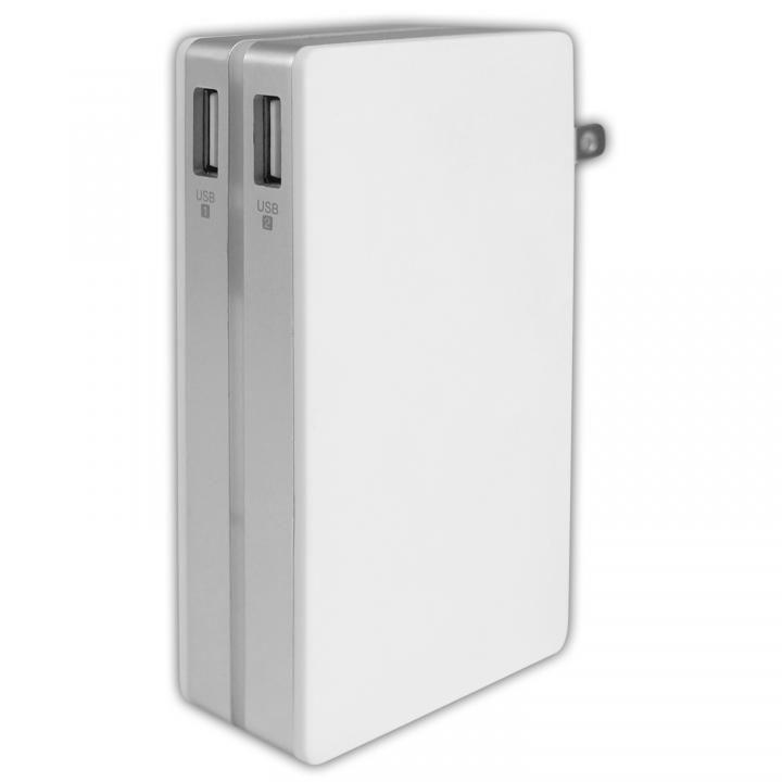 [10000mAh]AC充電対応10000mAh モバイルバッテリー_0