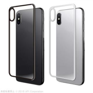 【iPhone Xケース】True Color バックプロテクター ホワイト iPhone X_2