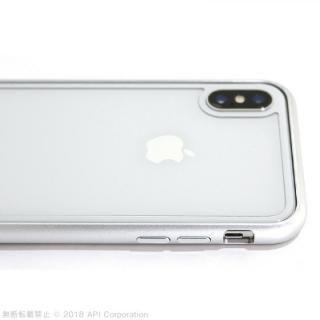 【iPhone Xケース】True Color バックプロテクター ホワイト iPhone X_5