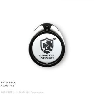 ARMOR RING Lite 落下防止リング ホワイト/ブラック