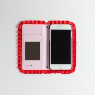 【iPhone8/7/6s/6ケース】青木美沙子オリジナル ハートフリルスマホケース iPhone 8/7/6s/6_4