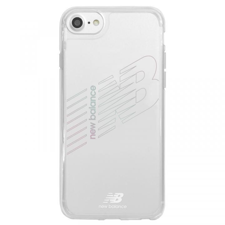 iPhone8/7/6s/6 ケース New Balance(ニューバランス) TPU+PCハイブリッド クリアケース クリア iPhone SE 第2世代/8/7/6s/6_0