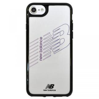 iPhone8/7/6s/6 ケース New Balance(ニューバランス) TPU+PCハイブリッド クリアケース ブラック iPhone 8/7/6s/6