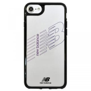 iPhone SE 第2世代 ケース New Balance(ニューバランス) TPU+PCハイブリッド クリアケース ブラック iPhone SE 第2世代/8/7/6s/6