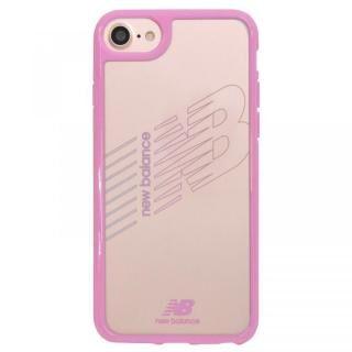 iPhone8/7/6s/6 ケース New Balance(ニューバランス) TPU+PCハイブリッド クリアケース ピンク iPhone 8/7/6s/6