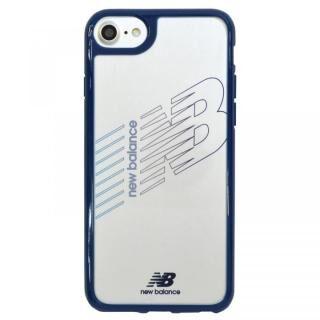 iPhone8/7/6s/6 ケース New Balance(ニューバランス) TPU+PCハイブリッド クリアケース ネイビー iPhone 8/7/6s/6