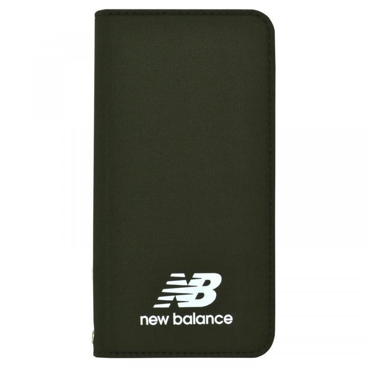 iPhone8/7/6s/6 ケース New Balance(ニューバランス) シンプル手帳ケース カーキ iPhone SE 第2世代/8/7/6s/6_0